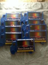 Lot 9 Melissa and Doug Truck Crayon Set 12 Crayons in each NEW - FACTORY SEALED