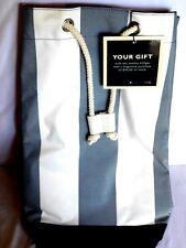 NEW Blue/White Tommy Hilfiger Duffel Bag