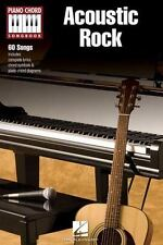 Acoustic Rock - Piano Chord Songbook (Piano Chord Songbooks)-ExLibrary