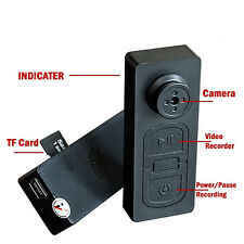 SPY MINI HIDDEN DV DVR HD BUTTON CAMERA SUPPORT 8GB 16GB 32GB MICRO SD GROOVY