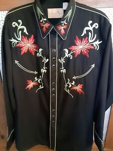 Scully Embroidered Men's Shirt Pre Owned