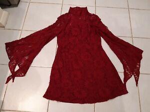 Casper & Pearl Sz 12 Lace Dress