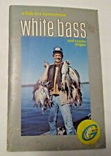 VINTAGE 1975 WHITE BASS & COUSIN STRIPER A FISH FOR TOMORROW FISHING BOOK