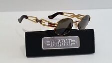 RARE Vintage DIABLO-Sunglasses Mod. D30 Gold Tortoise Made in Italy NEW