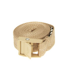 RRP €140 OFF-WHITE c/o VIRGIL ABLOH Belt One Size Double Wrap Logo Panel