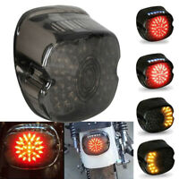 Taillight Tail Light Turn Signal for Sportster Dyna Softail Electra Road Glide
