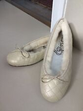 French Sole Confetti Cream Gorgeous Pumps Great Condition, Size 38 1/2/UK 5.5