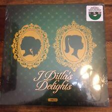 """J Dilla LP """"J Dillas Delights Vol I""""  Green Vinyl Black Friday 2017 RSD"""