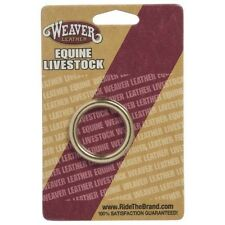 """Weaver Tack Repair/Replacement Carded Hardware, 1 1/4"""" Solid Brass O-Ring"""