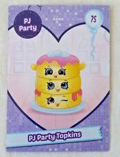 Shopkins Season 7 Card 75 PJ Party Topkins card - Free Post