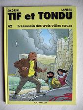 SIKORSKI LAPIERE TIF ET TONDU L'ASSASSIN DES TROIS VILLES SOEURS EO STRICT NEUF