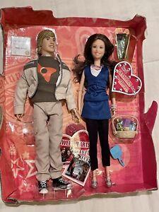 Disney Hannah Montana Miley Cyrus and Jake Sweethearts Dolls