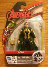 "LOKI FIGURE 3.75"" Avengers Age of Ultron Marvel All Star Universe NEW 2015"