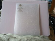 Anna Griffin Lattice Ornamental Embossing Folder Lace New No Packaging