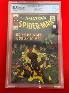 Amazing Spider-Man #27 CBCS 5.5 Marvel Silver Age Classic Green Goblin App.