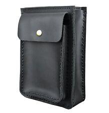 Mens Genuine Leather Waist Pack Waist Belt Bag Cow Leather Small Messenger Bag