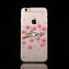 Bling handmade Crystal Diamonds Soft Back Phone Cases Cover for  Huawei 4
