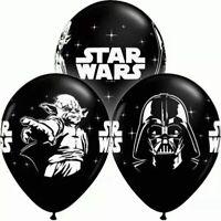 """8PCS 12"""" Star Wars Darth Vader Storm Trooper Yoda Latex Balloon Party Decoration"""