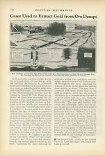1933 Gases Used to Vacuum Gold From Ore Dumps Mining Fracking Minerals