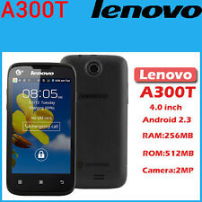 "CELLULARE SMARTPHONE LENOVO A300T 4""  NERO - ANDROID - GSM - WIFI - NO UMTS"