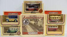 Bus: Set di 6 1935 Dennis SINGOLO Coach/CARROZZA Lledo modelli (DT) 126