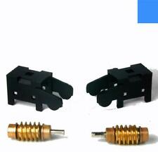 BRASS WORM GEAR SETS WITH COVERS   ATLAS HO SCALE