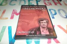 DVD -  L'ALPAGUEUR - philippe labro  / Jean Paul Belmondo Bruno Cremer  / DVD