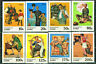 Norman Rockwell Illustration Paintings Stamps Zaire #1005-12 Mint NH Complete