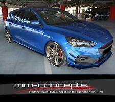 CUP Seitenschweller Ansätze SET für Ford Focus MK4 ST Line Skirts Schweller V1