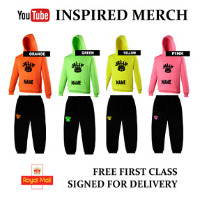 JELLY TIME INSPIRED MERCH,Hoody &/or Joggies free UK 1st Class SIGNED Postage