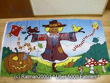 Fahnen Flagge Herbst Vogelscheuche - 90 x 150 cm