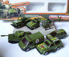 LLEDO MILITAIRE 7 CHAR TANK MILITARY HELICO JEEP VAN  CHEVROLET PICK UP SCAMMELL