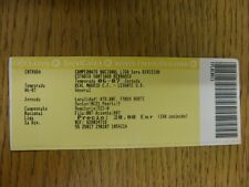 2006/2007 Ticket: Real Madrid v Levante  (folded). Thanks for viewing our item,