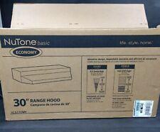 """NuTone Basic Economy 3"""" Range Hood RL6230WH"""