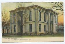 Court House Baton Rouge Louisiana Postcard