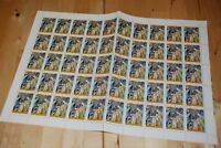 SPACE SOVIET-HUNGARIAN COSMONAUTS full sheet of 50 Hungary C417 q88