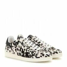 Etoile Isabel Marant Bart Calf Hair Leopard Sneakers $545 Size 38
