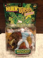 The Incredible Hulk Outcasts: Wendigo Action Figure 1997 Marvel Toy Biz New