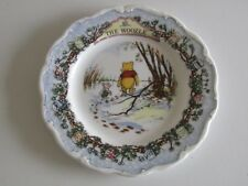 """Royal Doulton Disney Winnie the Pooh Collection The Woozle 8"""" ceramic plate"""