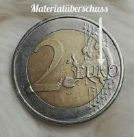 2 Euro Münze 2008 F Deutschland (FEHLPRÄGUNG)