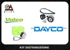 Kit cinghia distribuzione Fiat Croma 1.9 Multijet 150 cv Dayco Pompa acqua Valeo