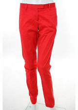 NWT KULE Pink Cotton Zipper Fly Skinny Leg Full Length Casual Pants Sz 2