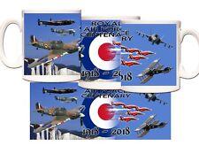 RAF100 CENTENARY GIFT MUG 10% TO ROYAL AIR FORCE BENEVOLENT FUND 100 years RAF