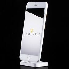 Apple iPhone 7 Plus 256GB White Custom 24 K 24ct Karat Gold Limited Edition RARE