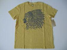 DENIM & SUPPLY RALPH LAUREN Men's Yellow Indian Headdress T-Shirt S