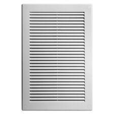 blanc grille ventilateur 180mm x 250mm 19.1cm 25.4cm Moustiquaire /