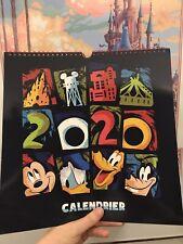Calendrier Disneyland Paris Paris 2020 Neuf Sous Blister