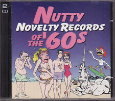 40 Nutty Novelty Records of The '60s (CD, Warner, 2 Disc)