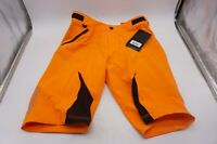 Troy Lee Designs Cycling Men's Sz 34 Terrain Mountain Bike Cycling Shorts Orange