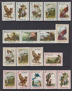 Haiti - 56 Out Von 60 Briefmarken Von Die F J Audubon, Vögel Set - MNH